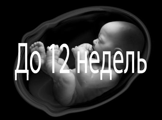 Аборт до 12 недель