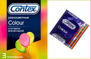 Презервативы Контекс Цветные картинка
