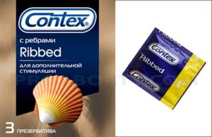 Презервативы Контекс Рибд картинка