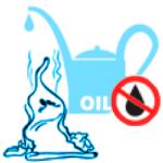 Презерватив и масло в лейке картинка