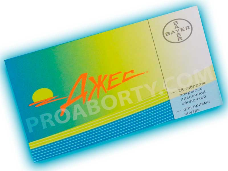 Упаковка препарата Джес картинка