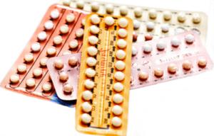Новые блистеры разных противозачаточных таблеток